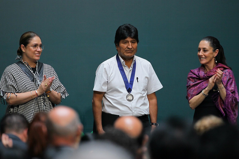 Nombran a Evo Morales huésped distinguido de la CDMX