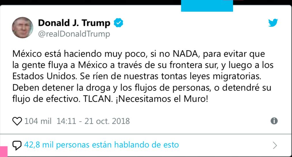 Tuit-Trump-migrantes