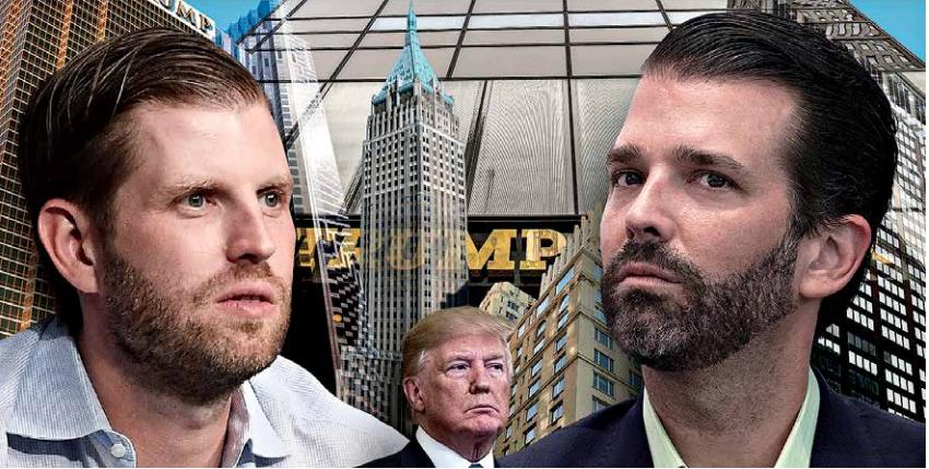 Los hijos rebeldes de Donald Trump marcan distancia de su padre
