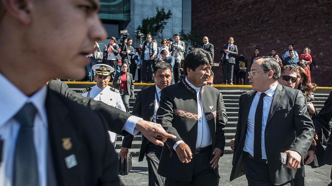 El factor Evo Morales en el gobierno mexicano