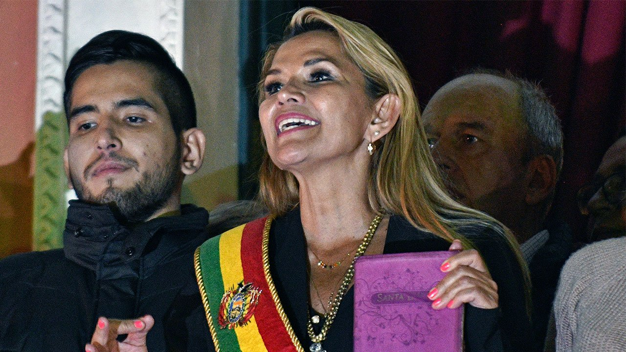 Presidenta Bolivia Jeanine Áñez