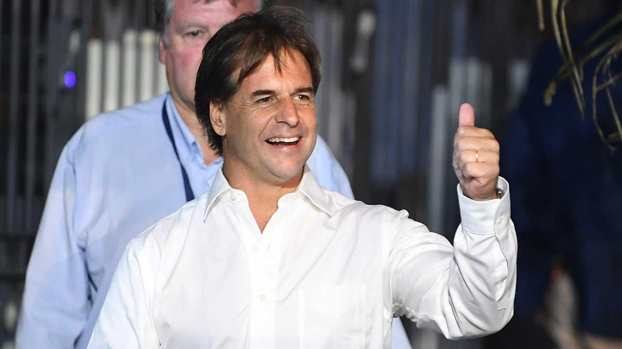 El opositor Luis Lacalle gana elecciones presidenciales en Uruguay