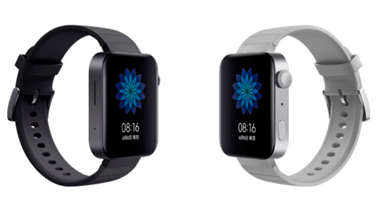 Xiaomi lanza el 'Mi Watch', un clon del Apple Watch de 185 dólares