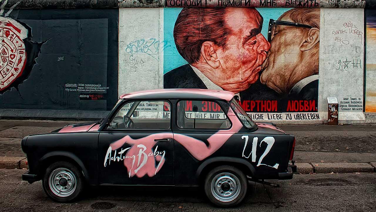30 años después de su caída, el Muro de Berlín vive en parques, plazas y recuerdos