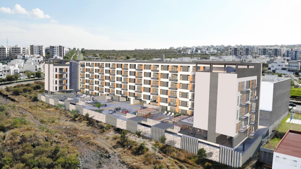 Xentric Zibatá Suites, el sueño universitario en Querétaro