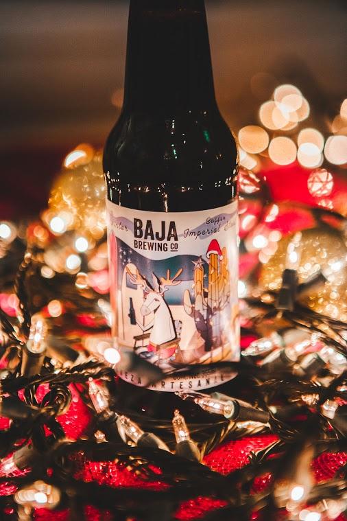 cervezas artesanales Navidad