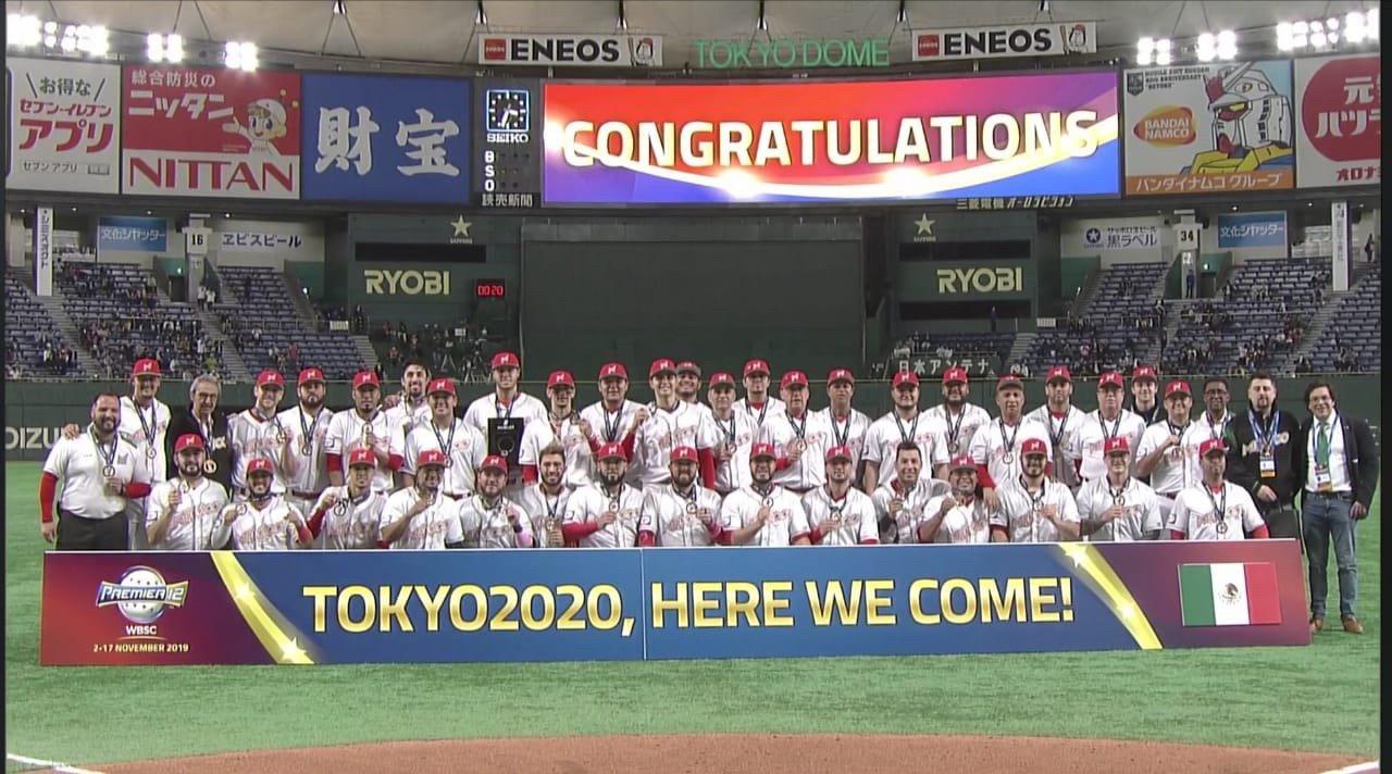 Beisbol mexicano está de fiesta: México vence a EU y gana pase a Tokio 2020