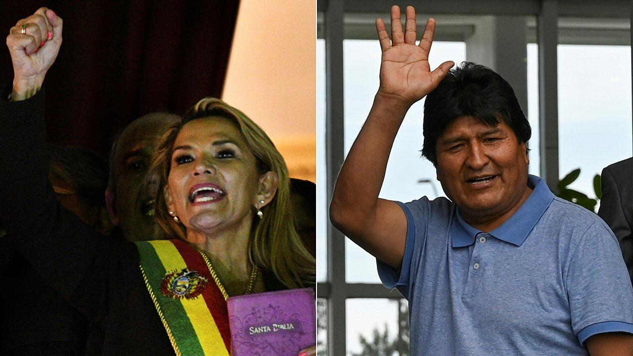 'Me dan pena los mexicanos', dice nueva presidenta de Bolivia tras asilo a Morales