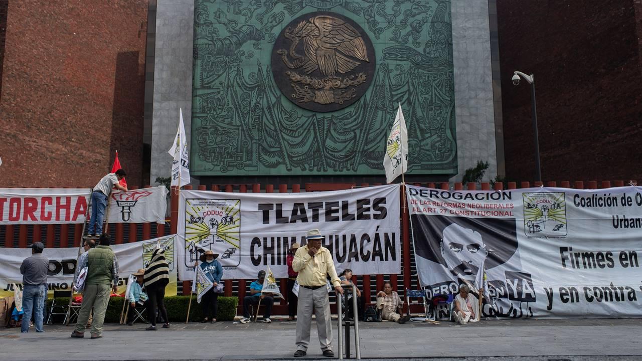 Por bloqueo, San Lázaro pospone otra vez sesión; aval a Presupuesto, a contrarreloj
