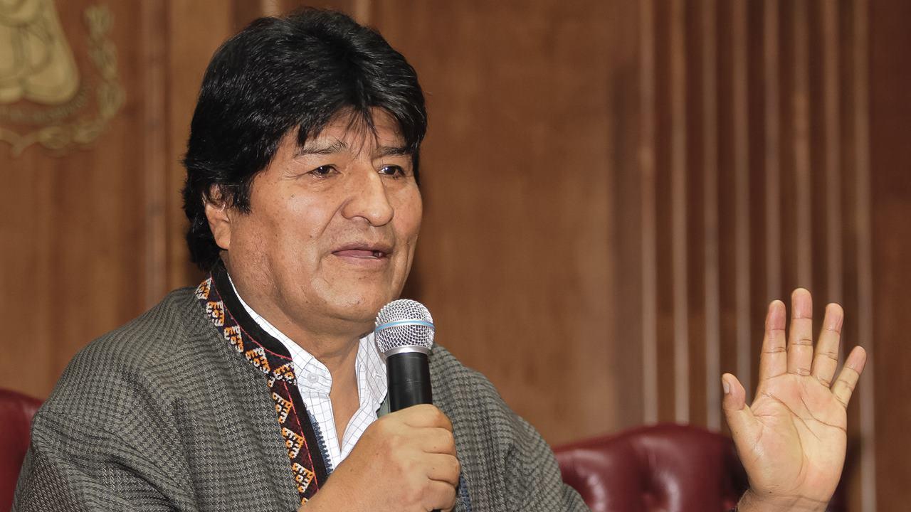 Evo se reúne con líderes bolivianos en Argentina