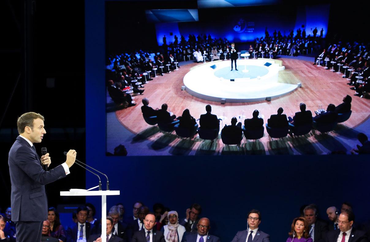 México puede ser promotor de la equidad global: Raúl Beyruti en foro de paz de París