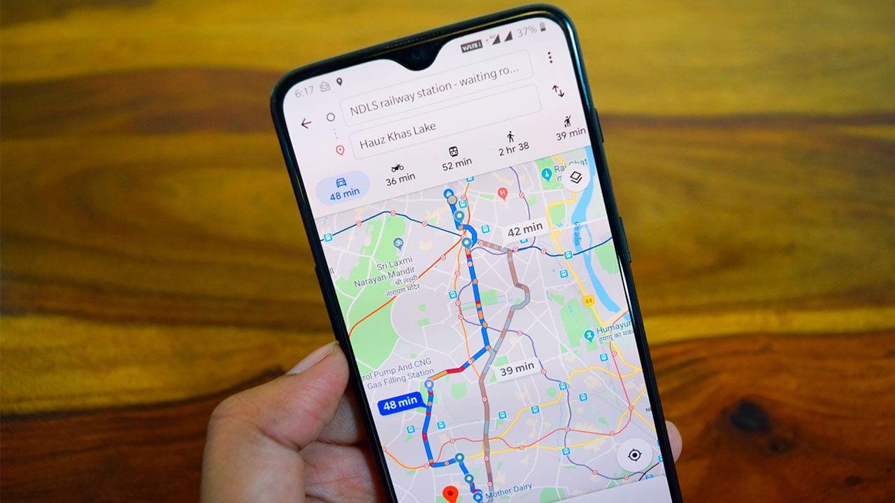 Te decimos cómo activar el modo incógnito de Google Maps en Android