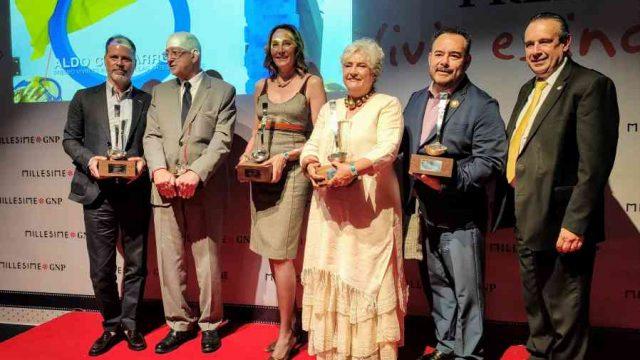 Entregan los premios 'Vivir es Increíble' en el marco de Millesime GNP