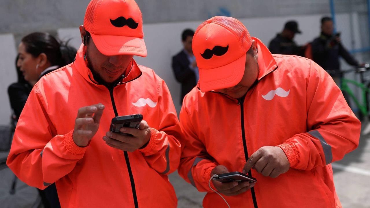 Se multiplican repartidores de Rappi, Didi y Uber por pandemia
