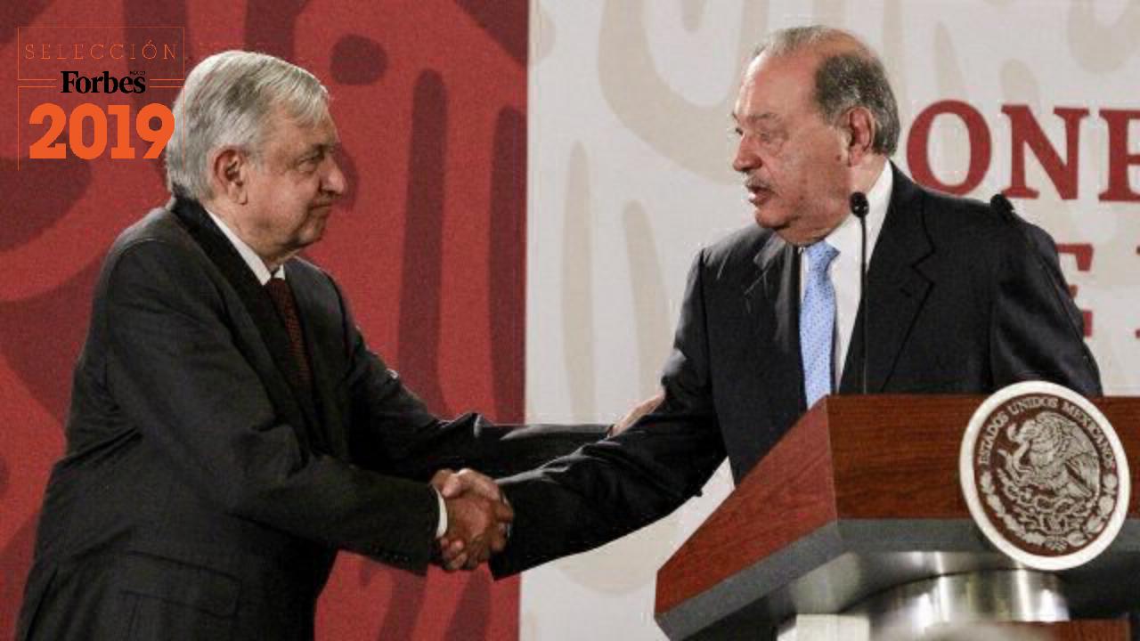Cae la confianza empresarial en México, pero para Slim eso no es problema