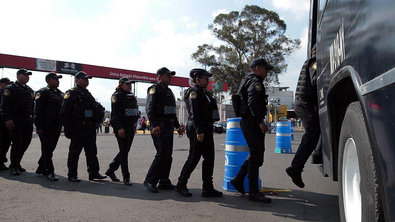 Ante robos en Estadio Azteca, la SSC-CDMX aclara que no hubo denuncias