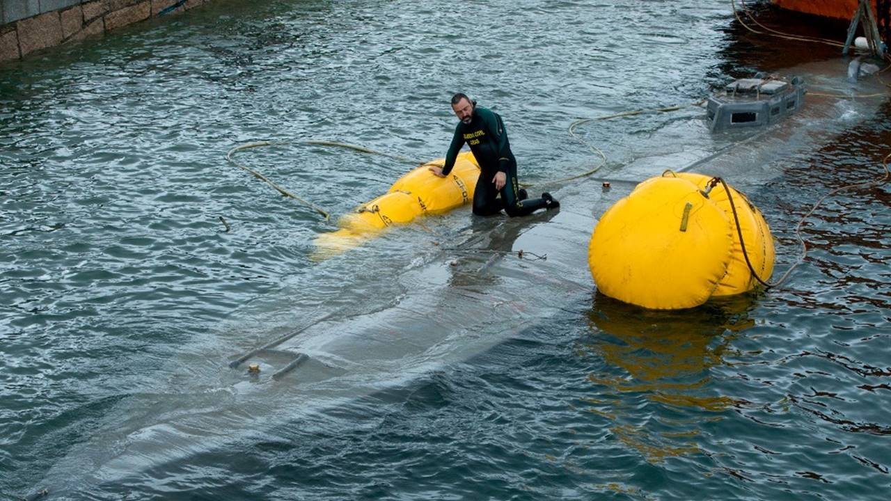 Narcosubmarino interceptado en España llevaba 110 mdd en cocaína