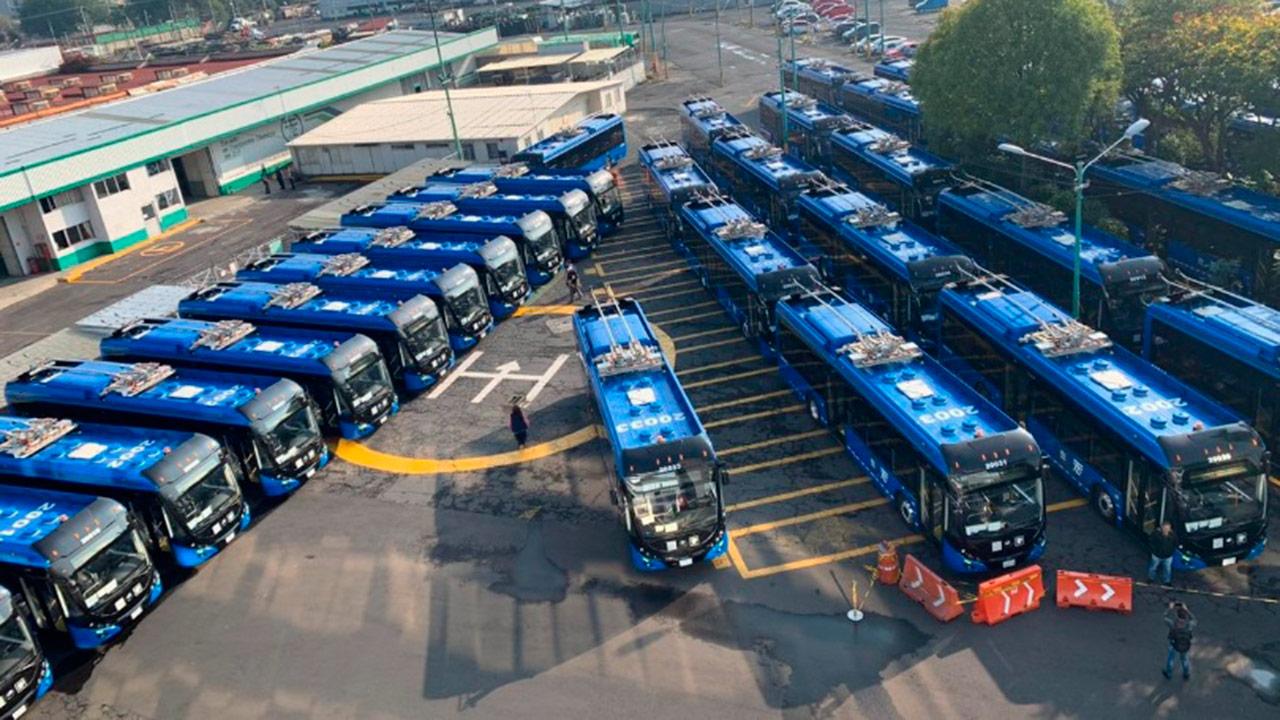 En marcha, 23 nuevas unidades del Trolebús en CDMX