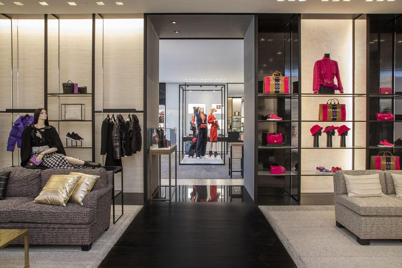Chanel reabre su boutique en Saks Santa Fe