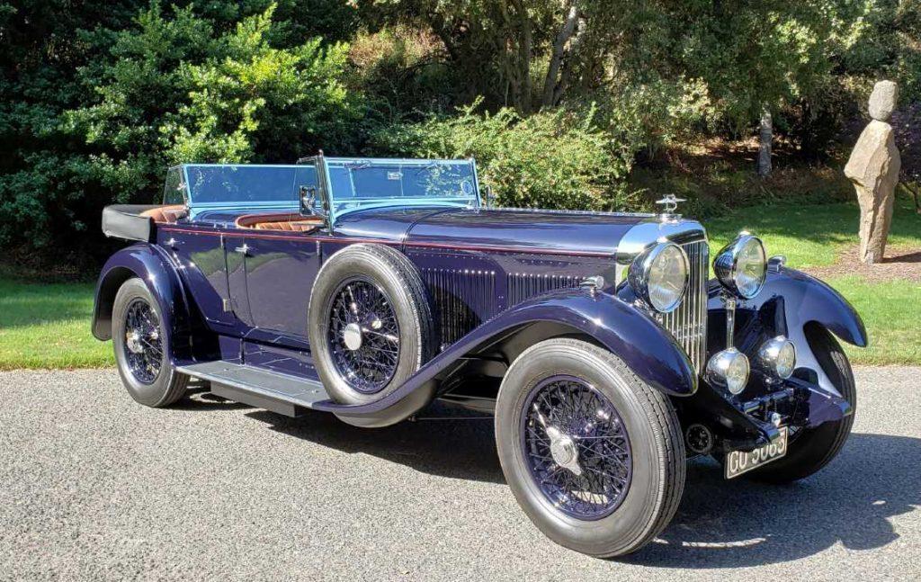1931 Bentley 8 Litre Dual Cowl Tourer