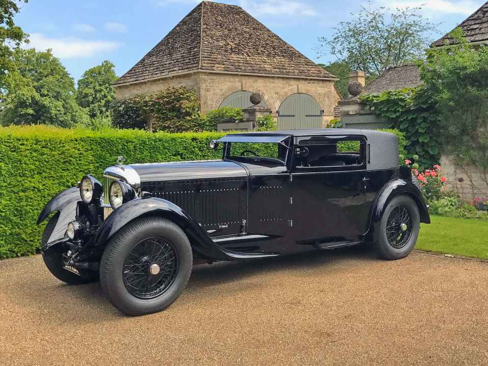 1931 Bentley 8 Litre Foursome Coupe