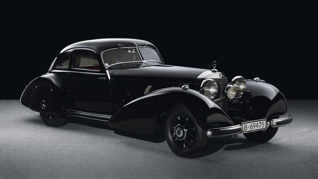 1938 Mercedes-Benz 540 K Autobahn-Kurierlegan