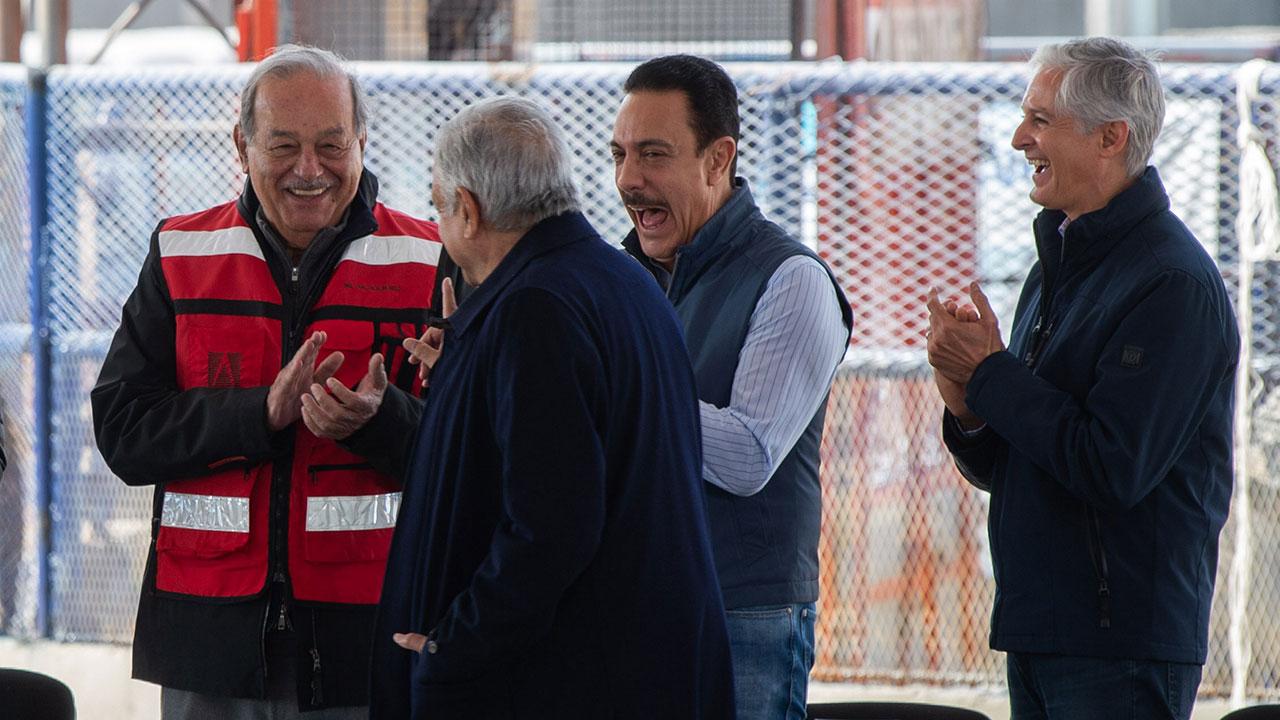 México necesita invertir 70,000 mdd cada año en infraestructura: Carlos Slim