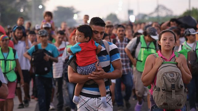 Migrantes politica migratoria AMLO