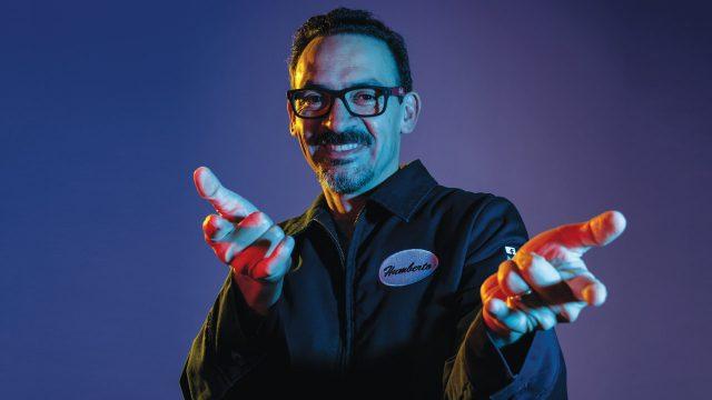 Humberto Ramos, dibujante de cómics. Foto: Fernando Luna Arce/Forbes México.