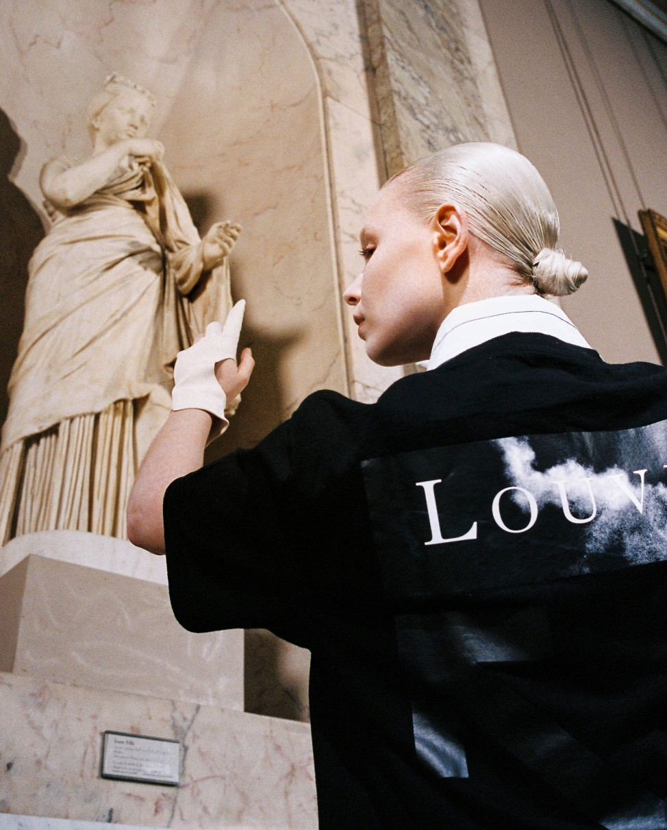 Off-White y el Louvre