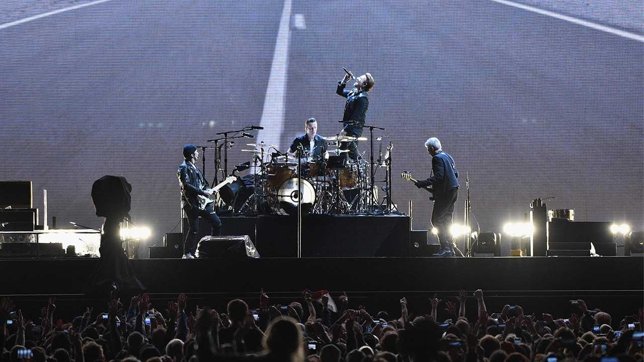 Conciertos de U2 generaron más de 1,000 mdd en una década