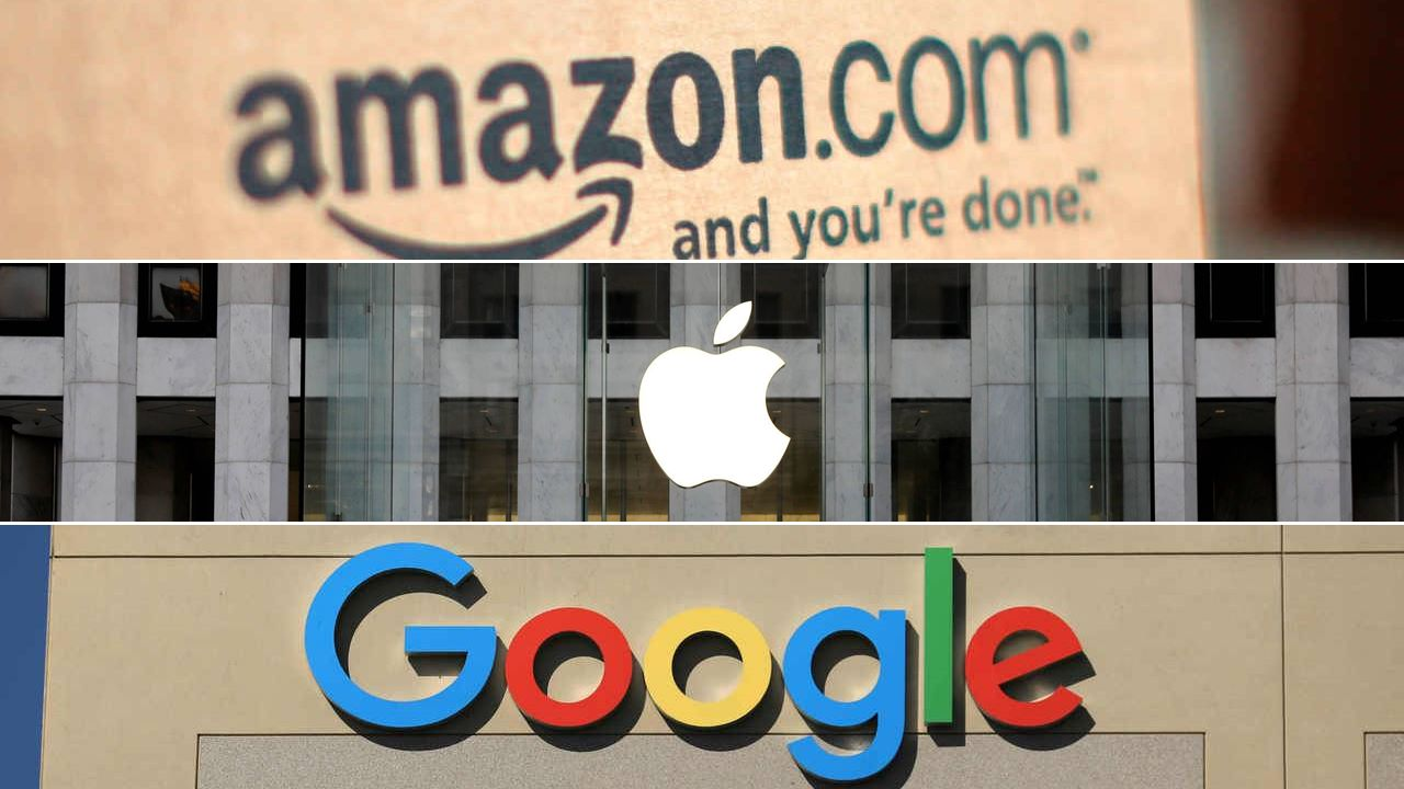 EU investiga a Amazon, Apple, Facebook, Microsoft y Google