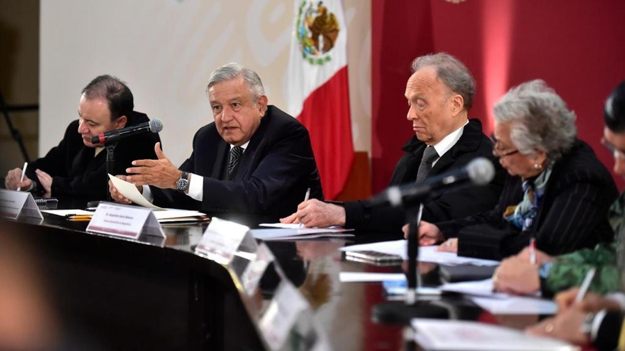 López Obrador se reunirá con su gabinete legal en Palacio Nacional