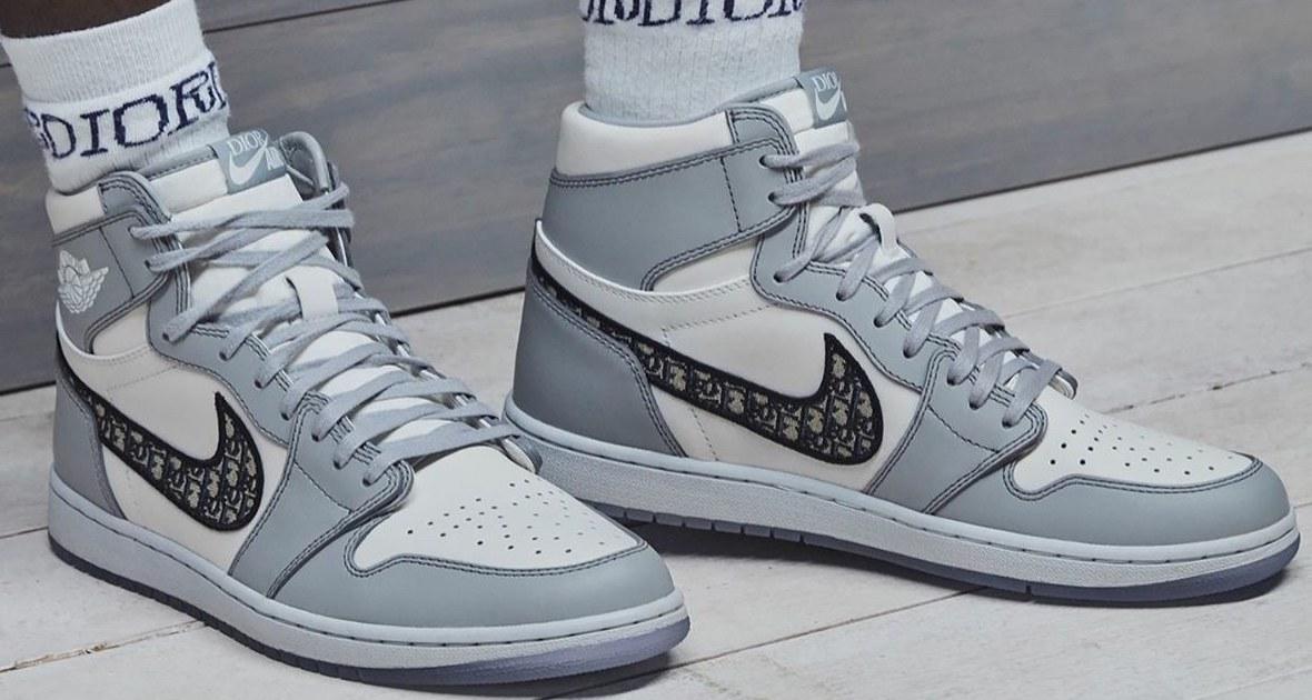 Dior x Air Jordan, el nuevo objeto del deseo para fashionistas