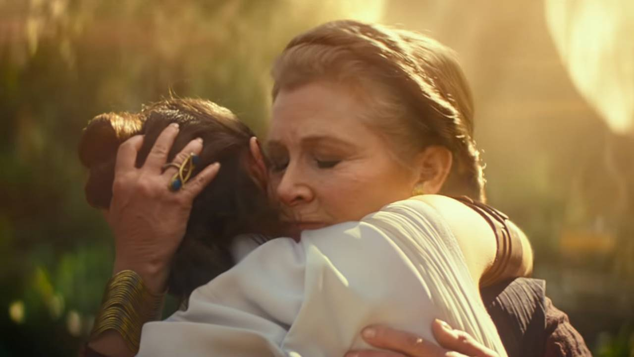 Pese al deceso de Carrie Fisher, Leia es clave en 'Star Wars: The Rise of Skywalker'