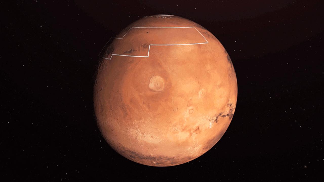 Sonda Perseverance, lista para peligroso aterrizaje en Marte: NASA