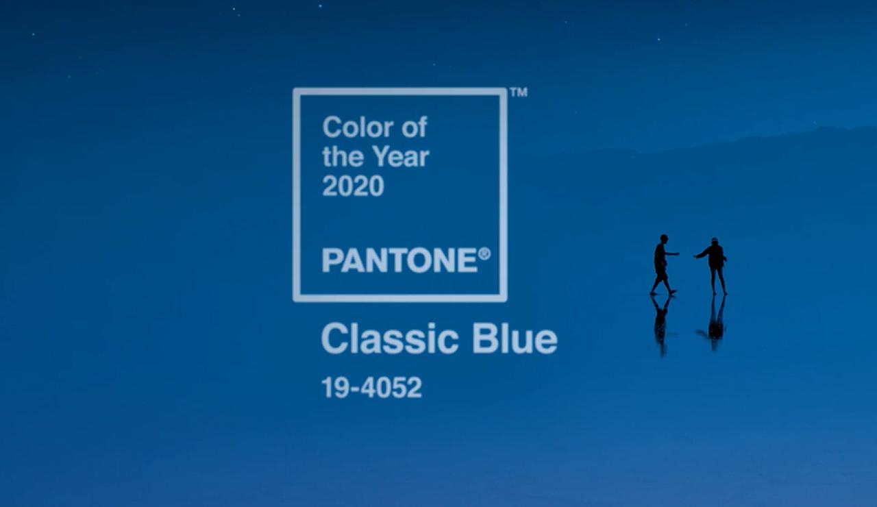 El color del 2020 de Pantone promueve calma y confiabilidad