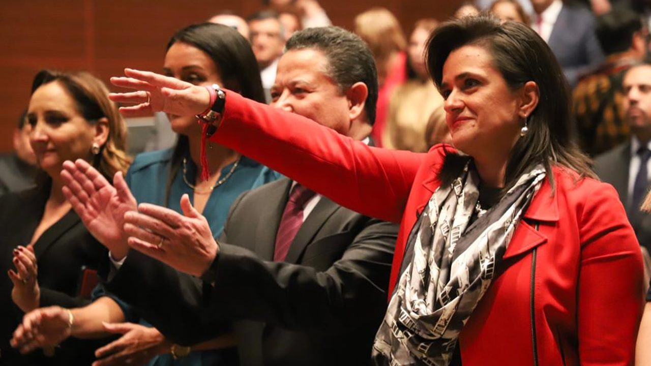 Senado elige a Margarita Ríos Farjat como nueva ministra de la SCJN