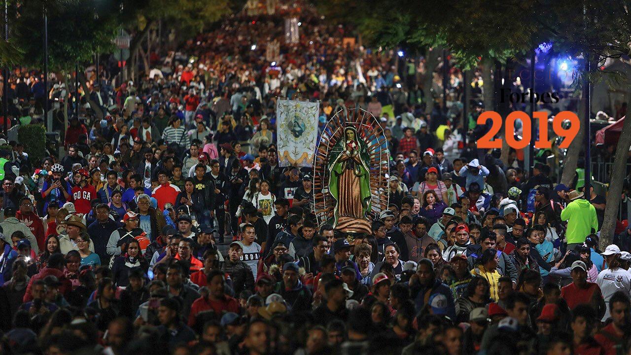 La celebración guadalupana es un motor económico silencioso