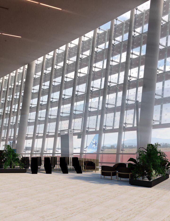 Aeropuerto de Guadalajara tendrá nueva terminal ecológica y de material reciclable