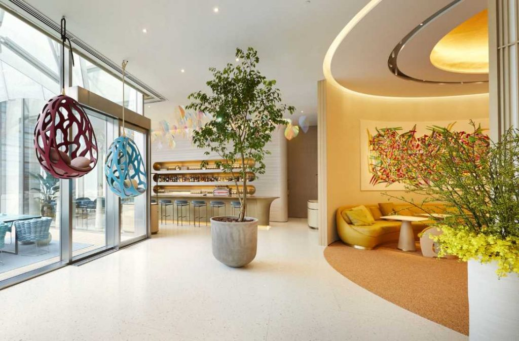 Louis Vuitton restaurant