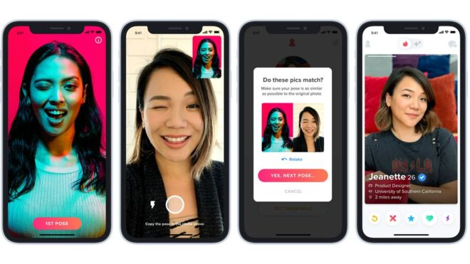 Tinder agrega botón de pánico y tecnología para evitar perfiles falsos