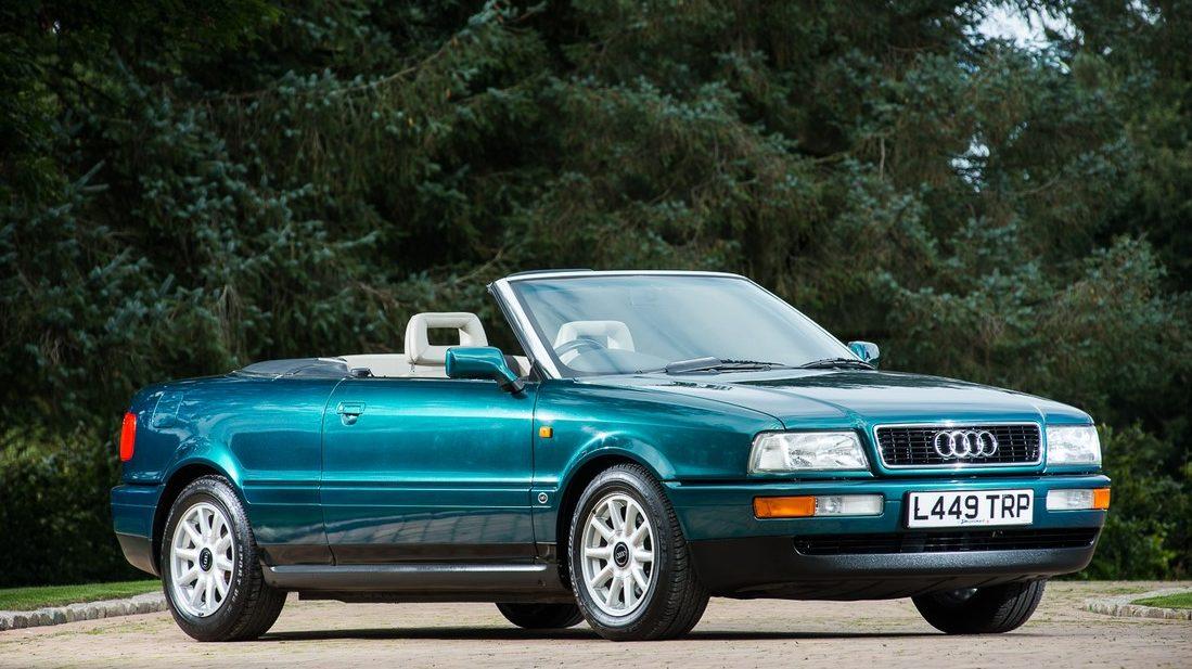 El Audi 80 Cabriolet de 'Lady Di' sale a subasta