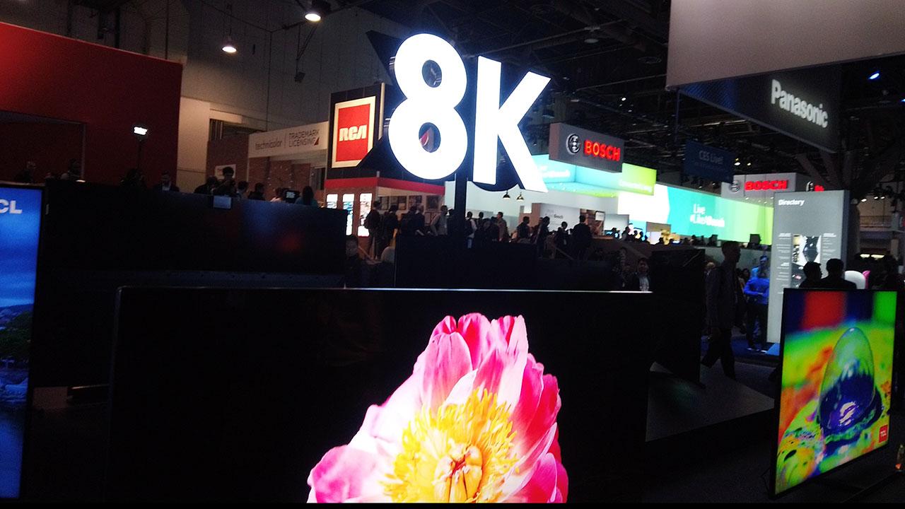 CES2020 | 8K, OLED, LED, las pantallas que todo mundo quiere y pocos tendrán