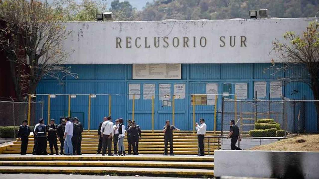 Suman ocho los detenidos por fuga de reos en Reclusorio Sur