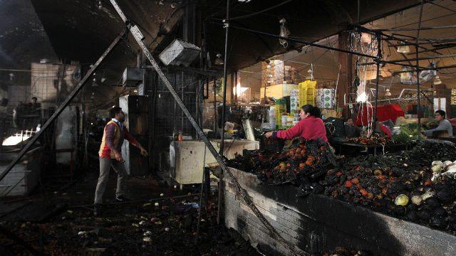 incendio mercado merced 2019