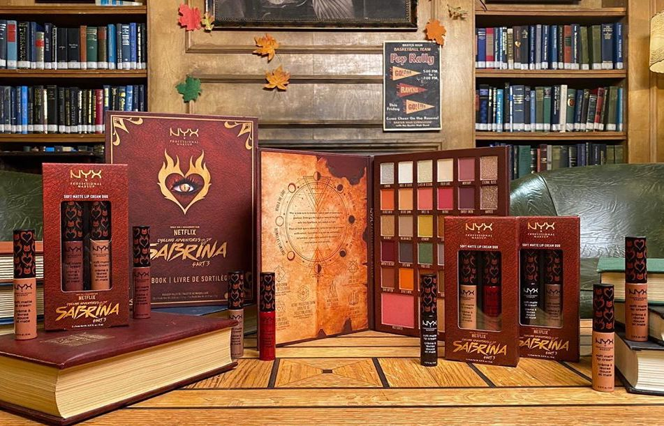 NYX lanza maquillaje inspirado en 'Sabrina', la serie de Netflix