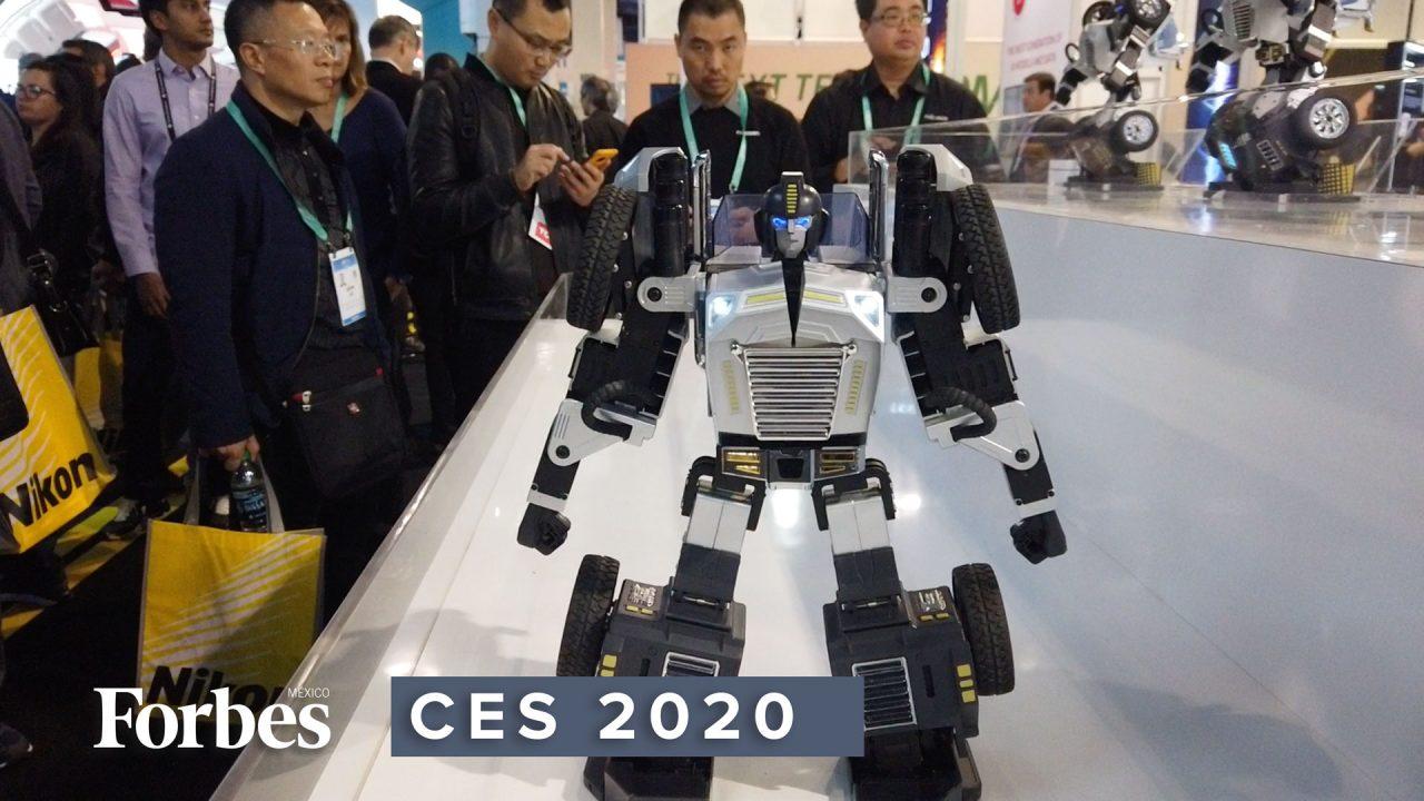 CES2020 | T9, el transformer que baila, camina y sigue tus órdenes