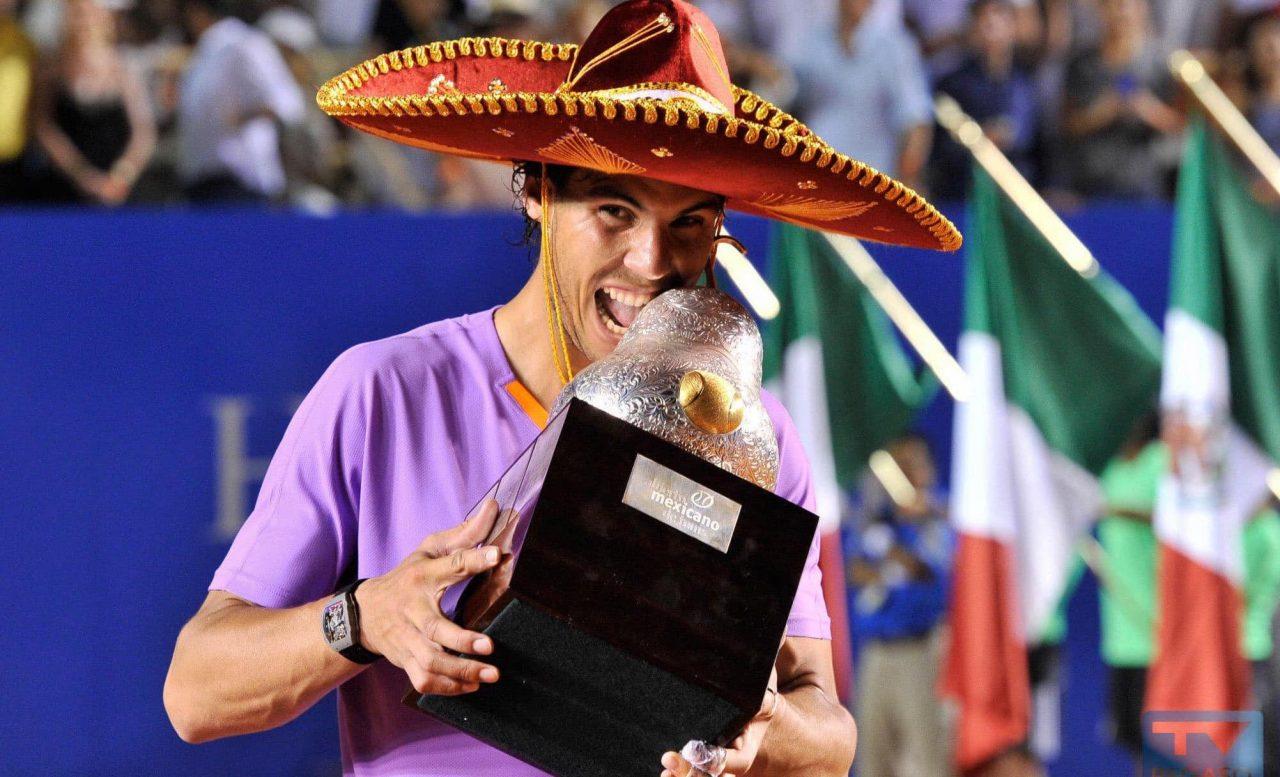 Rafael Nadal encabeza el cartel del Abierto Mexicano de Tenis