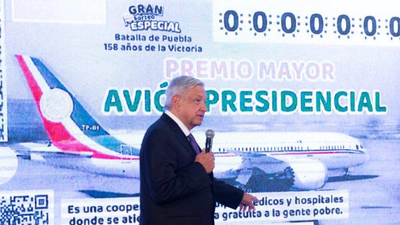 Los otros datos: ¿Será rentable el sorteo del avión presidencial?